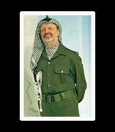 Does Yasser Arafat deserve to be evicted from Madame Tussaud's Wax Museum?