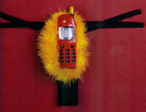 Cell phone thong courtesy of Chronicle Books