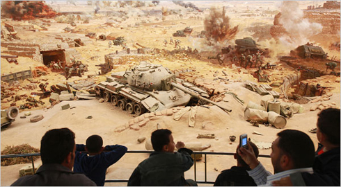 Egypt's October 1973 War Panorama Museum  (New York Times photo)