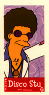 prop artist simpsons disco stu